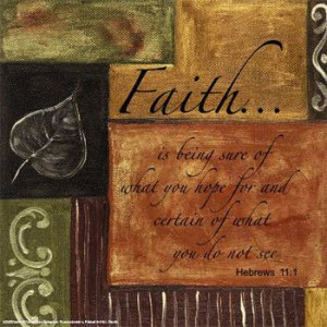 Faith - Why Do You Have Faith in Anything?