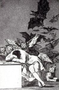 The Sleep of Reason by Goya