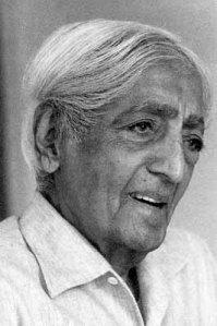 Krishnamurti (actual photo)!
